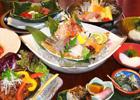 旬魚酒肴 亀乃井 コース料理写真